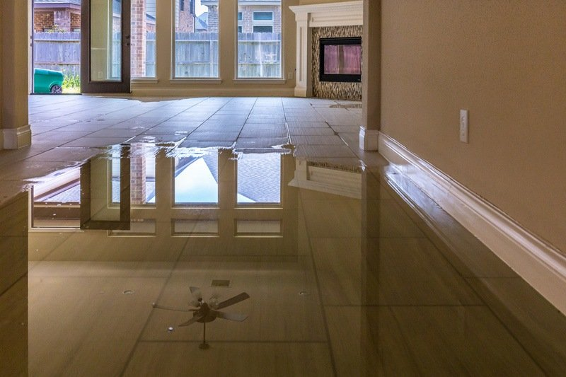 How to present water damage
