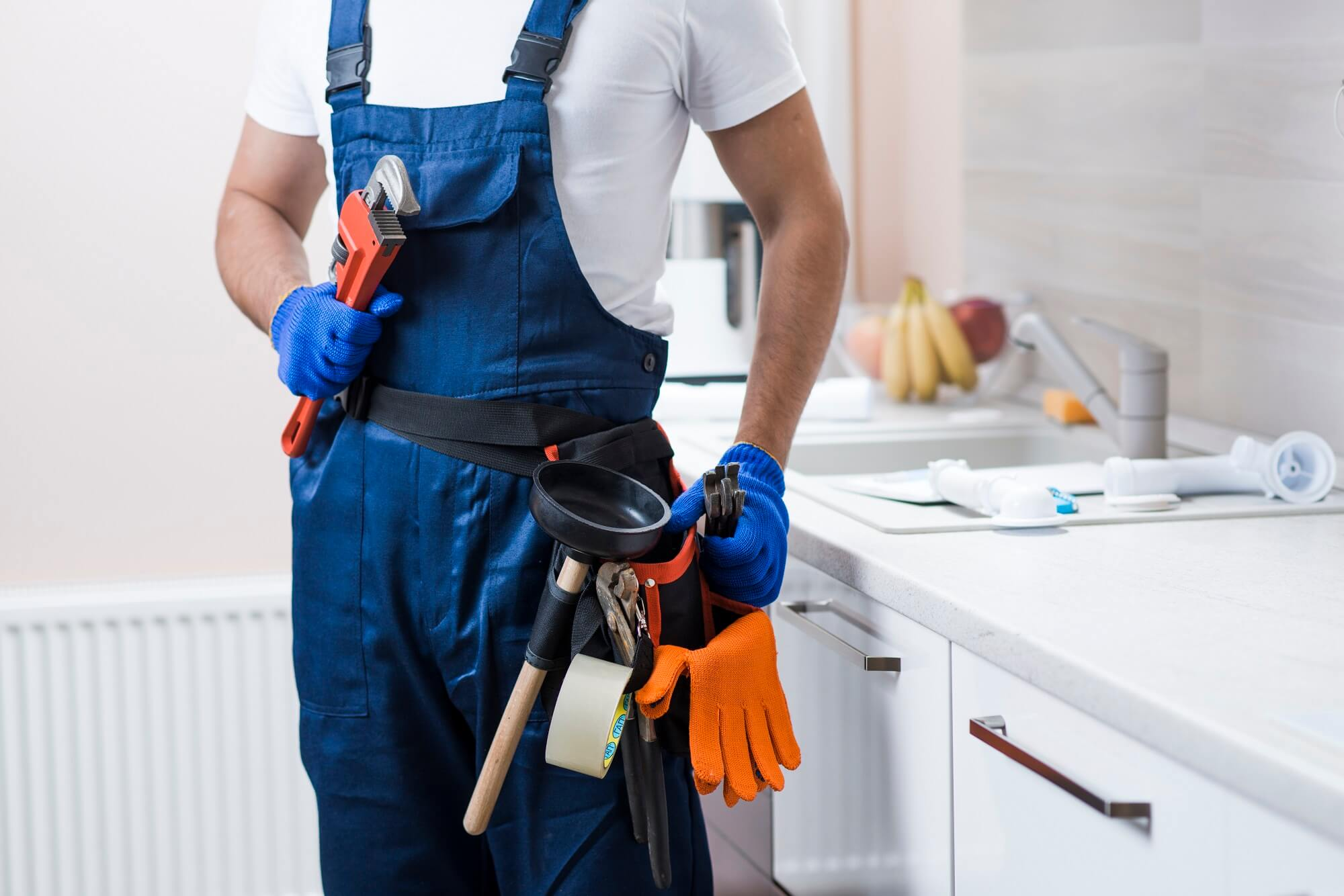 Expert Certified Plumbers, ready to provide our services with confidence